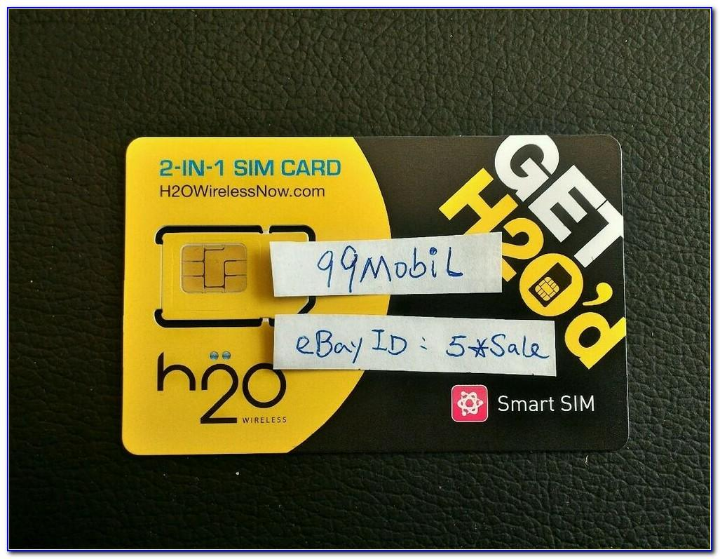 H2o Wireless Sim Card Activation