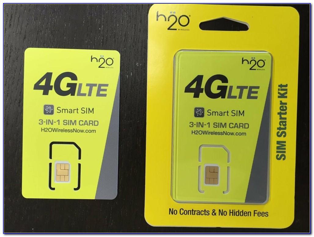H2o Wireless Sim Card Not Working