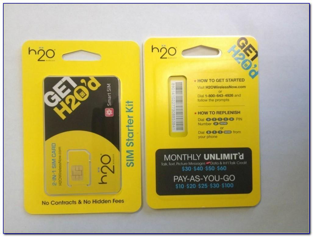 H2o Wireless Sim Card Target