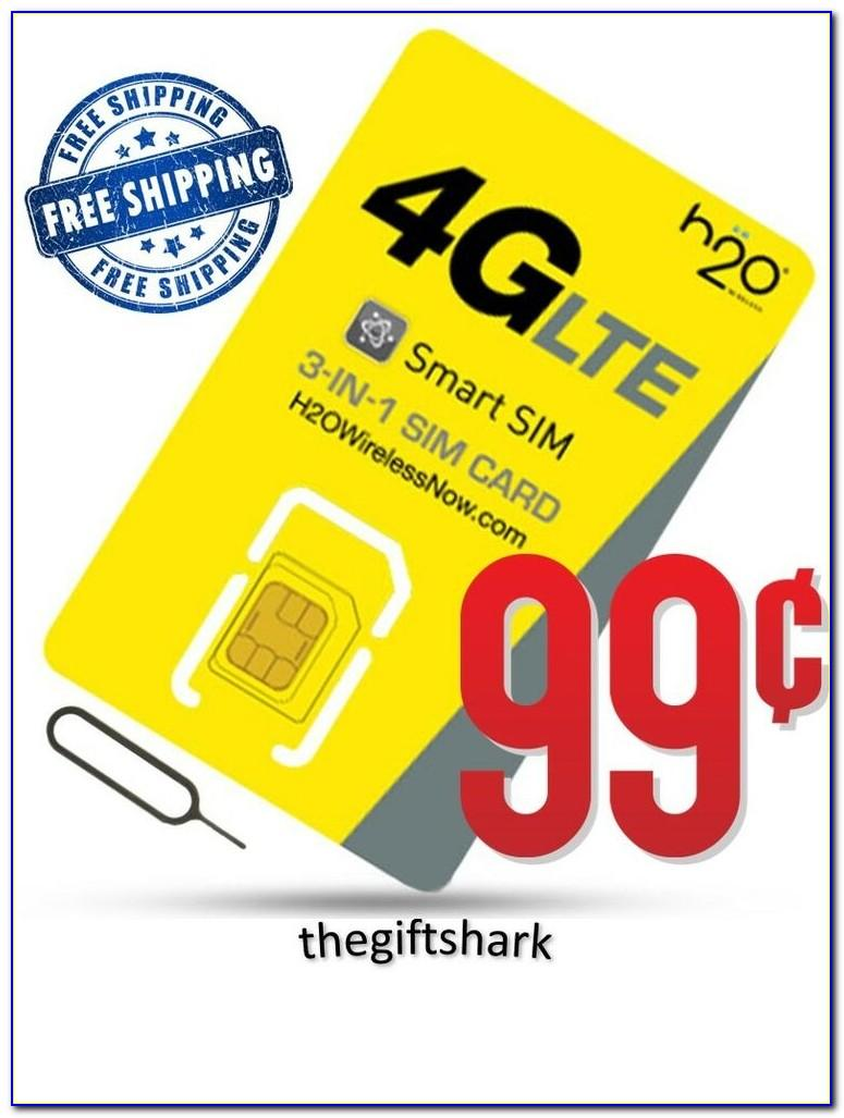 H2o Wireless Sim Card Walmart