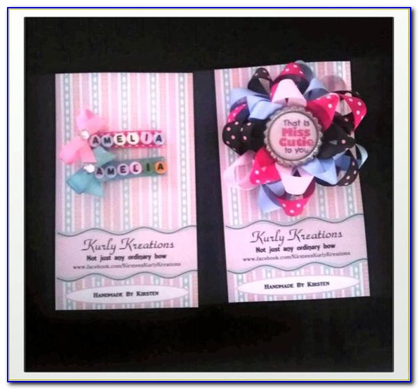 Hair Stylist Business Card Design