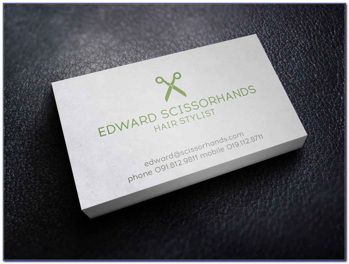 Hair Stylist Business Cards Ideas