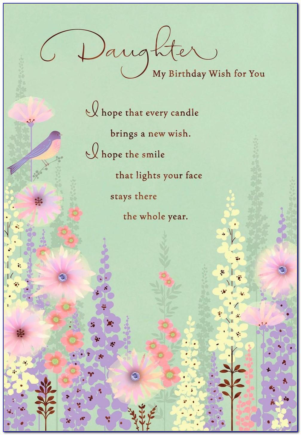 Hallmark Birthday Cards For Her
