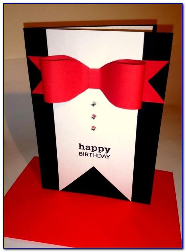 Handmade Birthday Card Ideas For Him