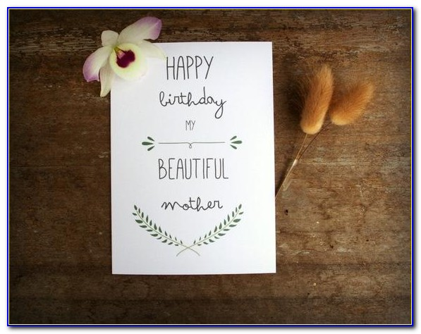 Handmade Birthday Cards For Mom From Daughter Easy