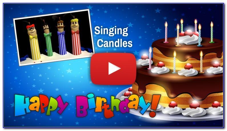 Happy 40th Birthday Singing Cards
