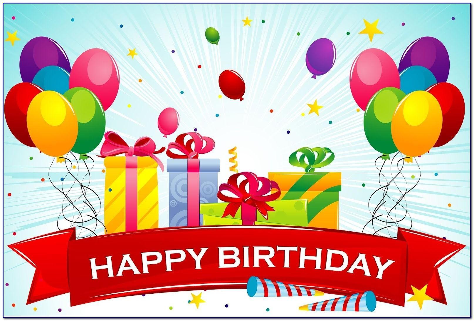 Happy Birthday Card Ecard Free