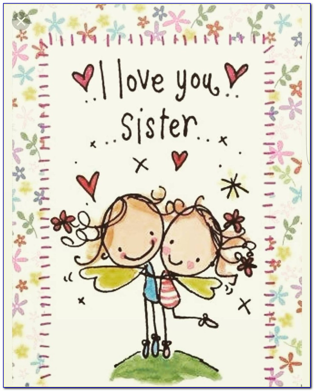 Happy Birthday Card Images For Sister