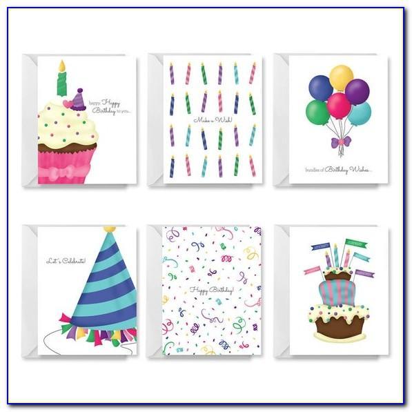 Happy Birthday Card Printable Pdf