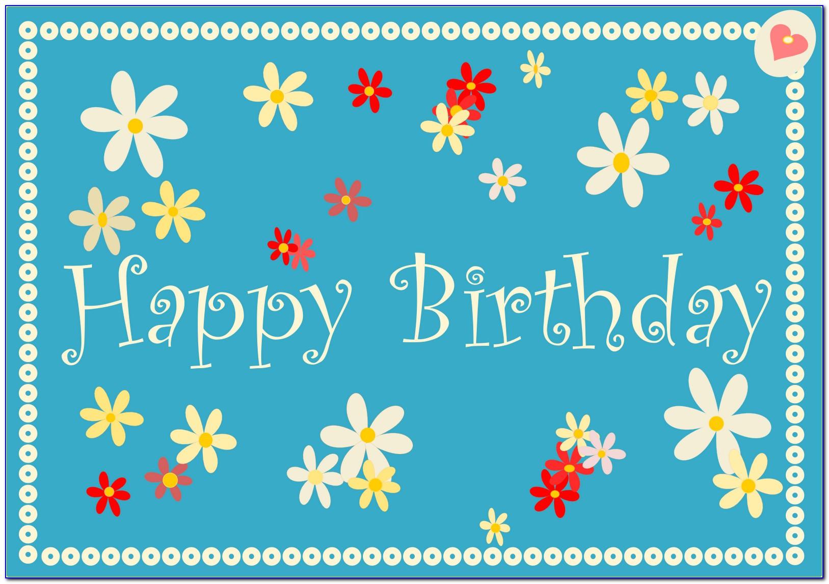 Happy Birthday Cards Online Free Printable