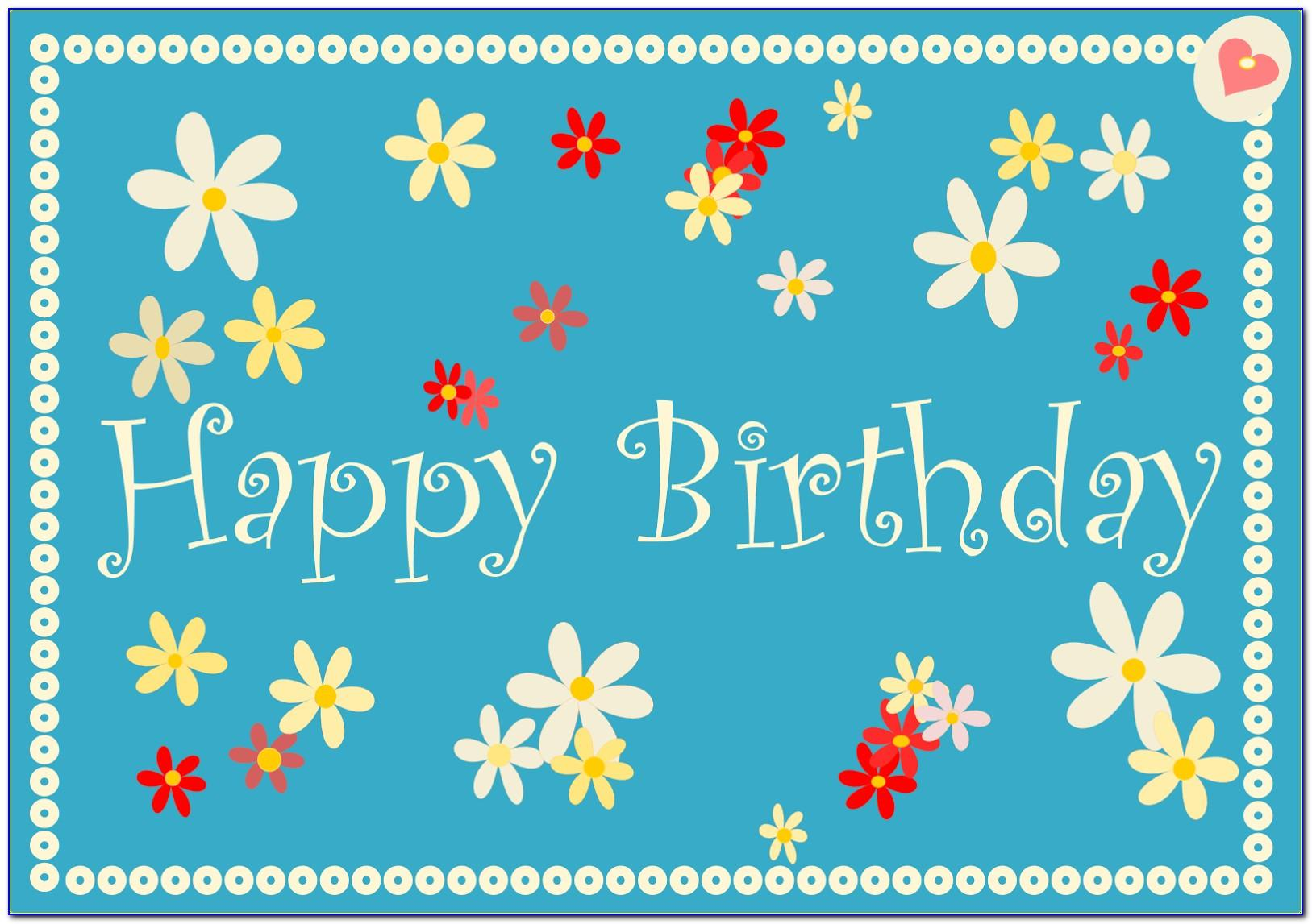 Happy Birthday Cards To Print For Free