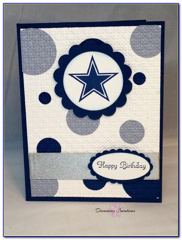 Happy Birthday Dallas Cowboys Card