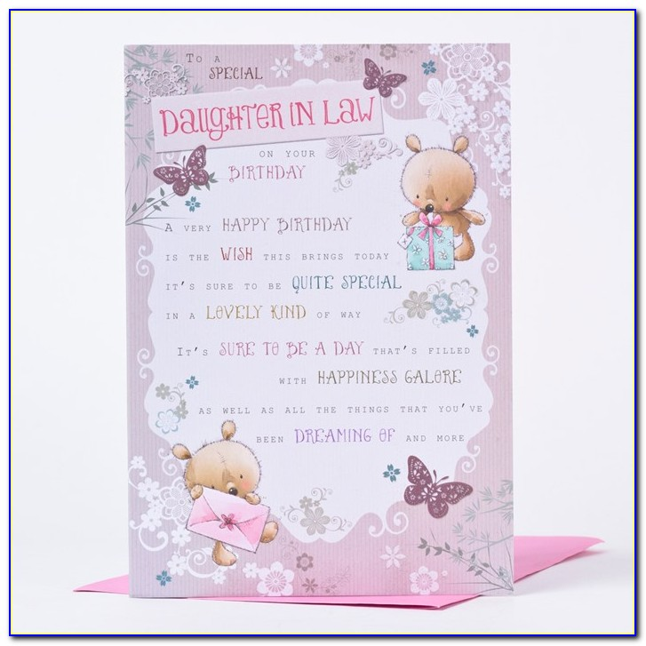 Happy Birthday Greeting Card For My Daughter