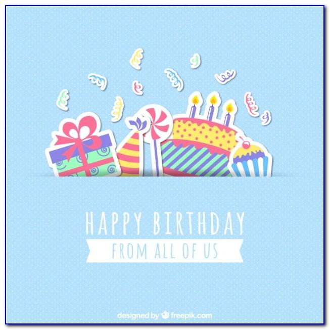 Happy Birthday Greetings Card Free Download