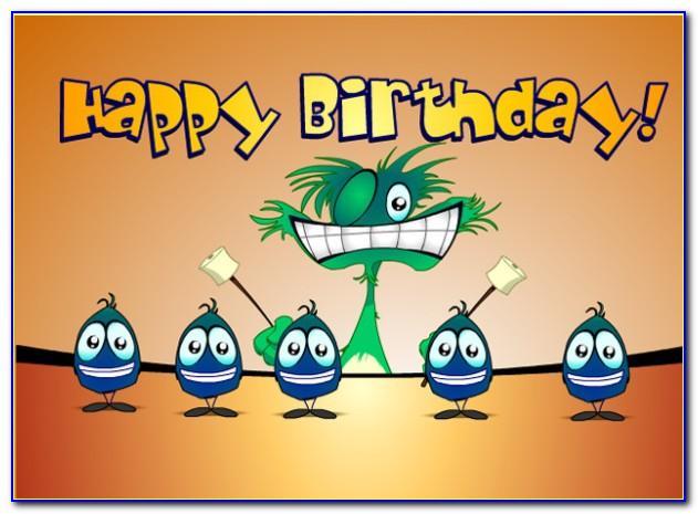 Happy Birthday Singing Cards Free