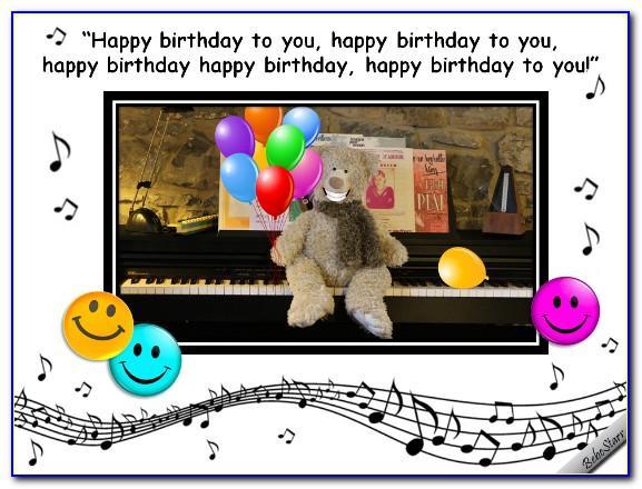 Happy Birthday Singing Cards Funny