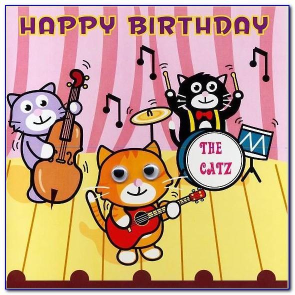 Happy Birthday Singing Cards Online
