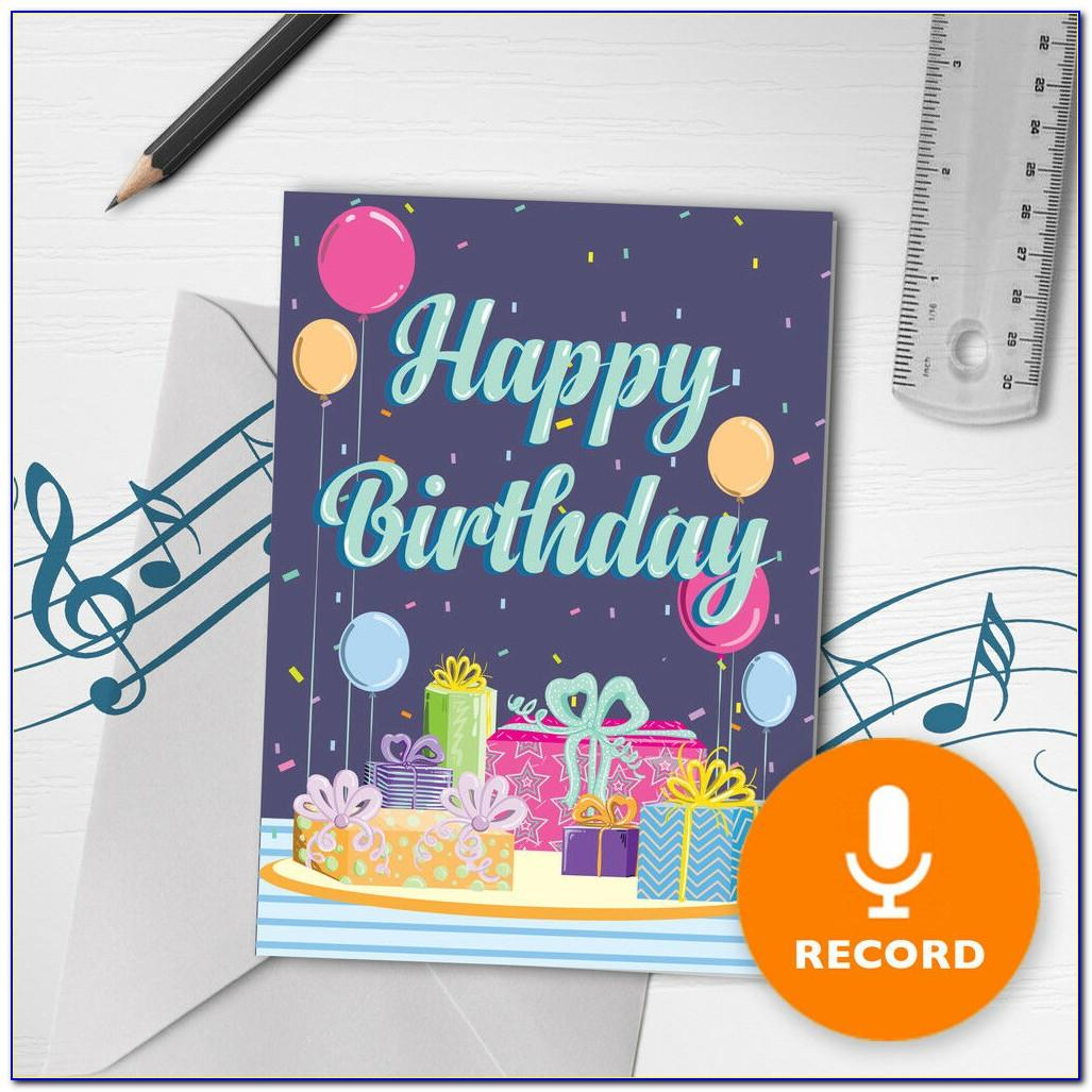 Happy Birthday Song Cards Download