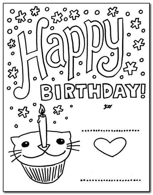 Happy Birthday Wishes Card Pdf