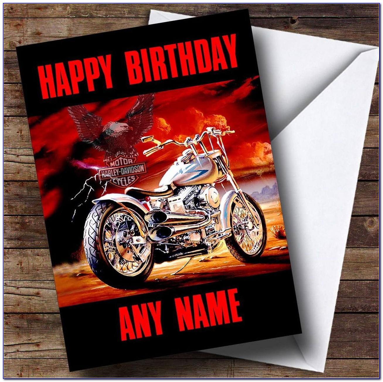 Harley Davidson Birthday Card Images
