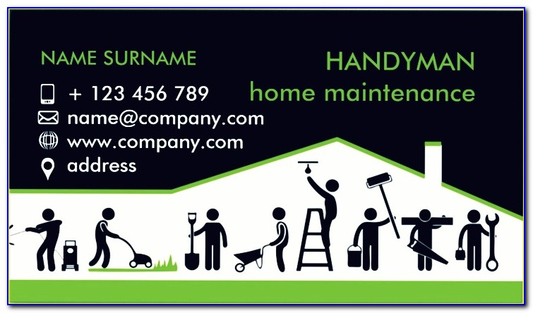 Hello My Name Is Business Card Template
