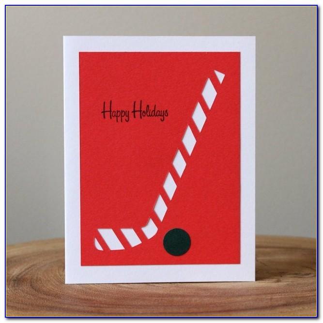 Hockey Birthday Card Ideas