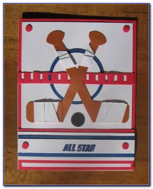 Hockey Birthday Card Printable