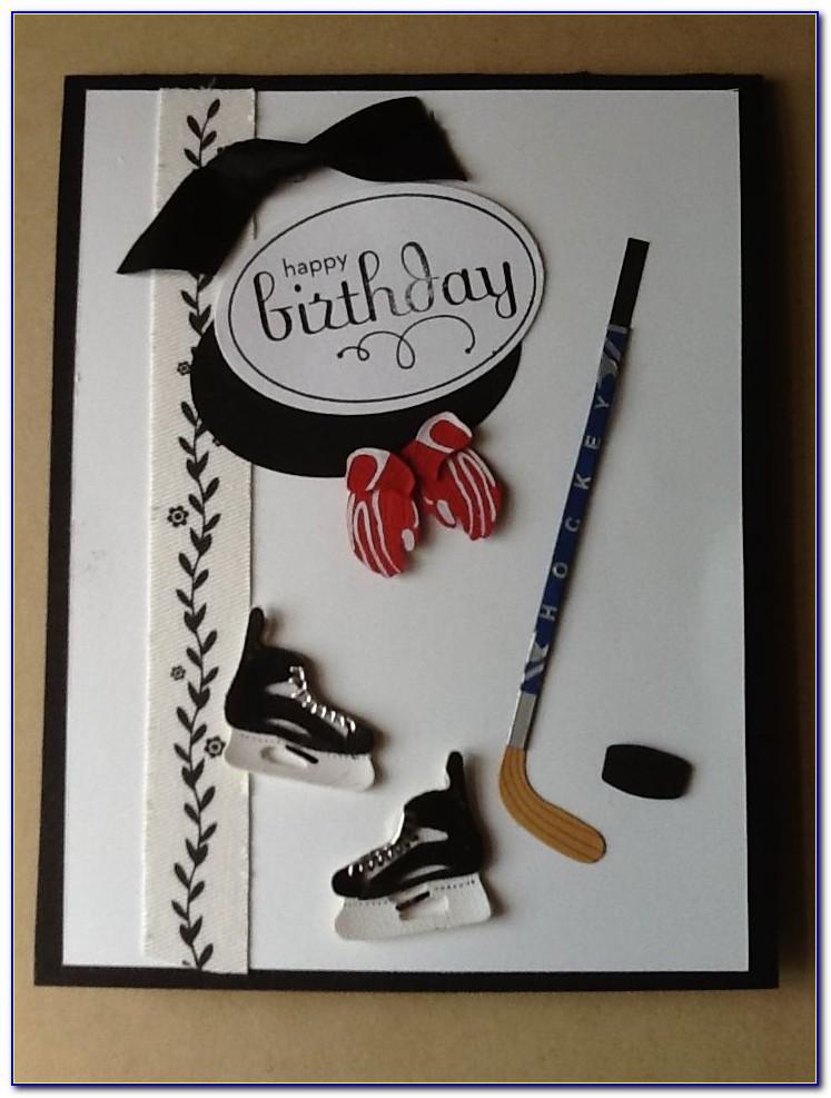 Hockey Birthday Card Sayings