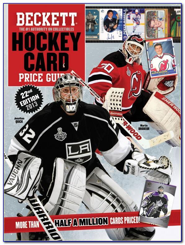 Hockey Card Beckett Free