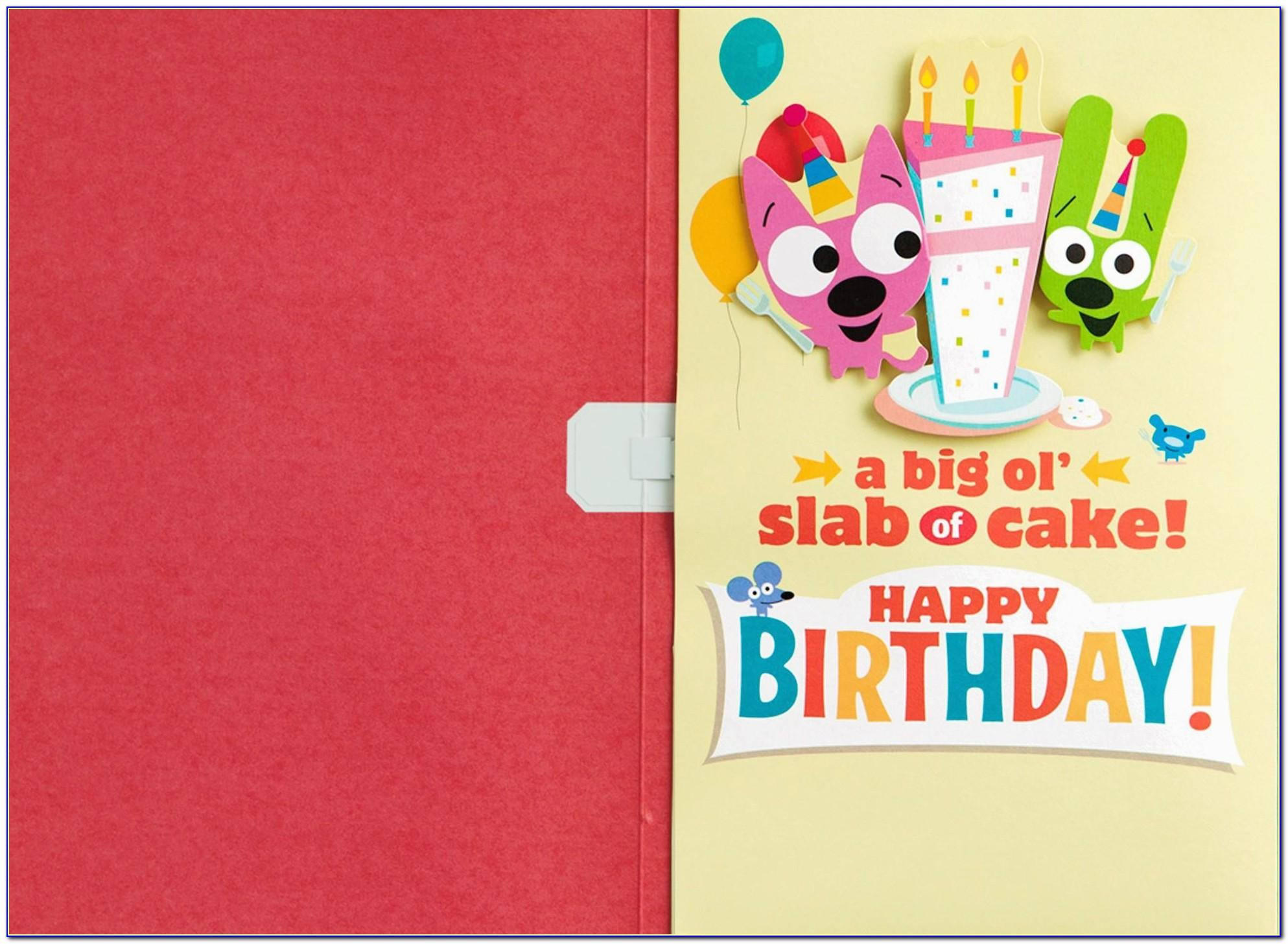 Hoops And Yoyo Birthday Cards For Free