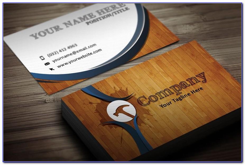 Horseshoeing Business Cards