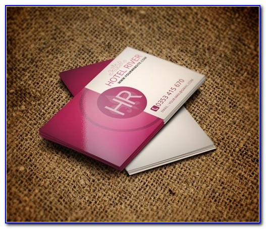 Hotel Business Card Template Free
