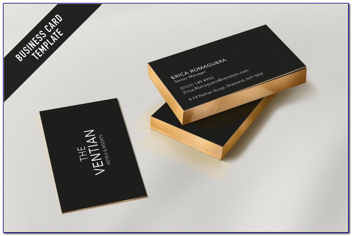 Hotel Visiting Card Format
