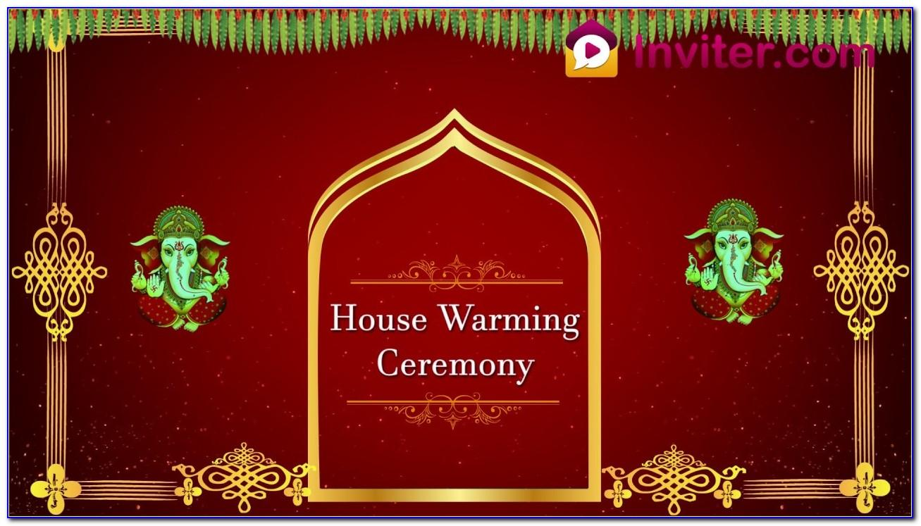 House Warming Ceremony Invitation Cards Free Download In Marathi