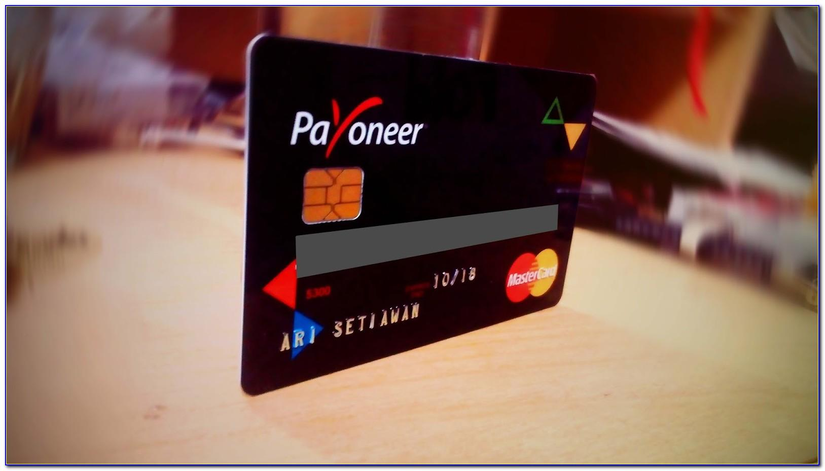 How To Get A Payoneer Mastercard For Free