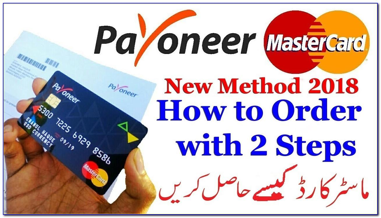 How To Get Payoneer Card In Pakistan Free