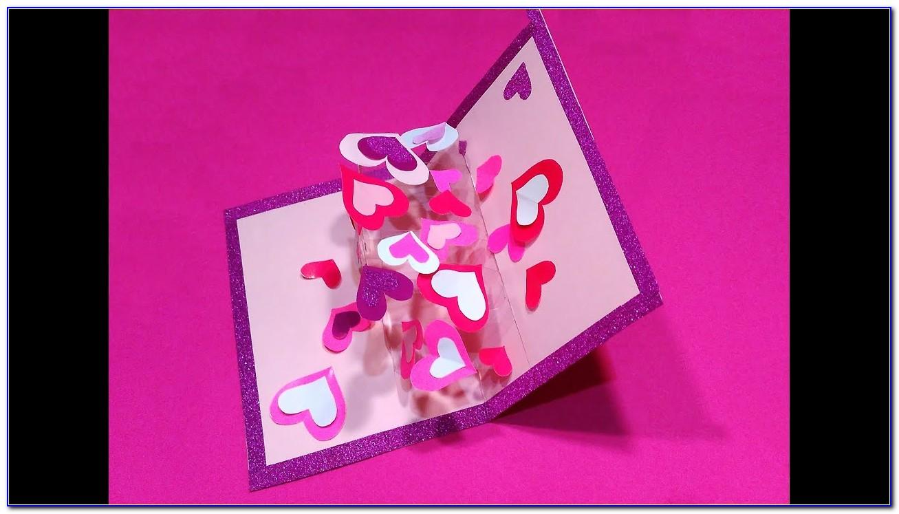 How To Make Pop Up Greeting Cards For Birthday Step By Step