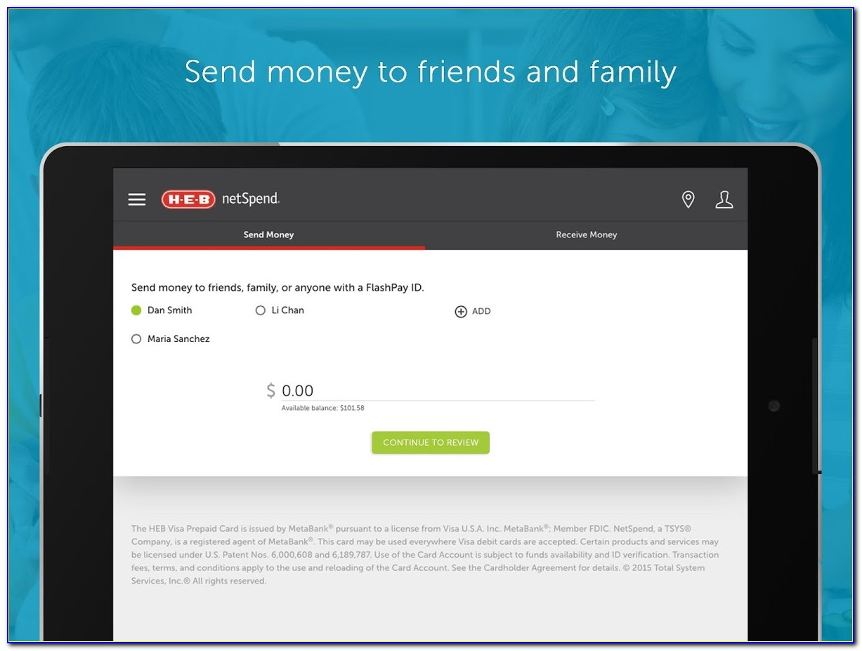 How To Put Free Money On A Netspend Card