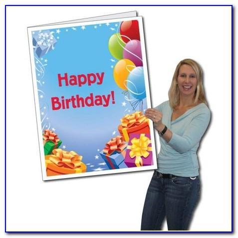 Huge Birthday Cards Walmart