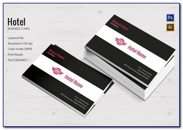 Hugo Boss Business Card Holder