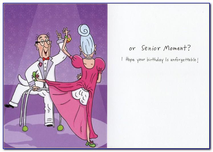 Humorous Birthday Cards For Seniors