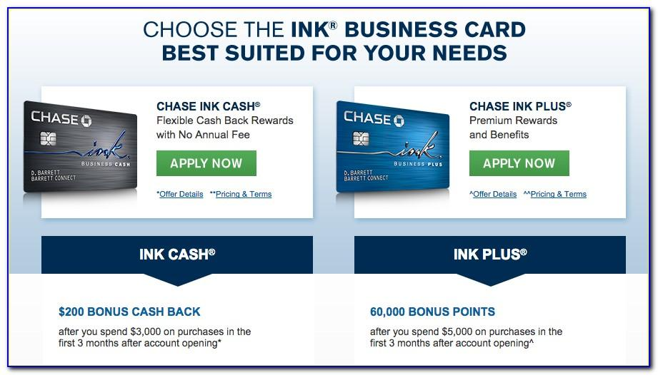 Ink Plus Business Card Benefits