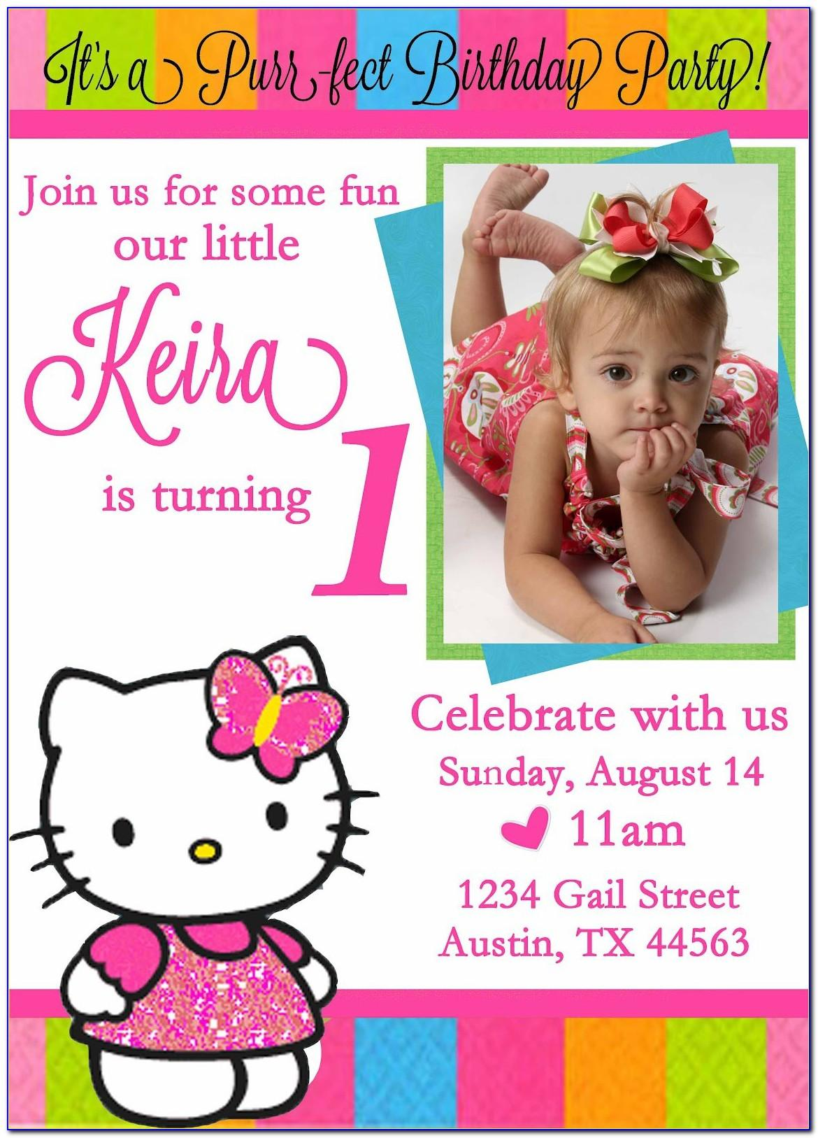 Invitation Card Design For Birthday Free