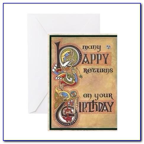 Irish Gaelic Birthday Cards