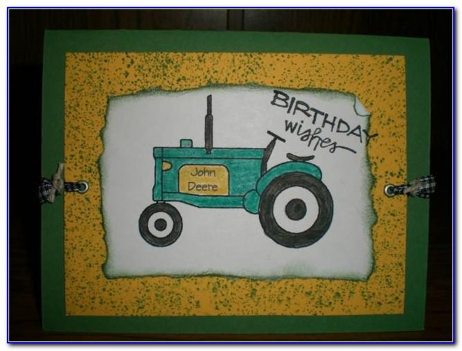 John Deere Birthday Card