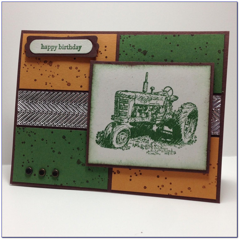 John Deere Birthday Cards