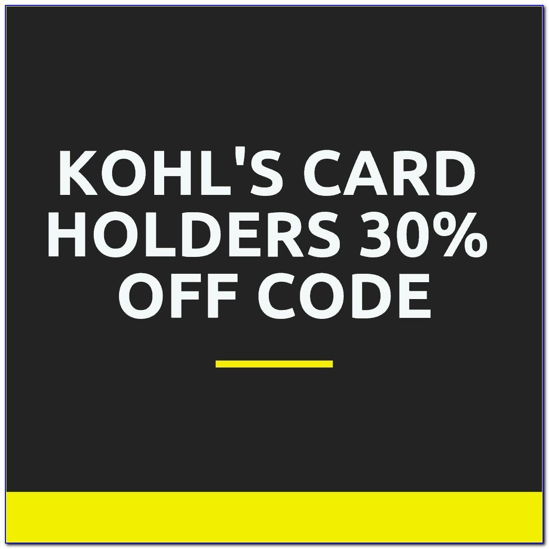 Kohls Codes For Card Holders
