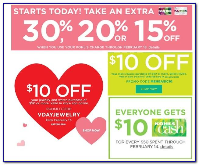 Kohls Coupon Codes For Card Holders