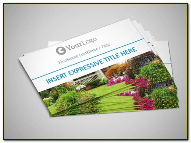 Landscaping Business Cards Samples