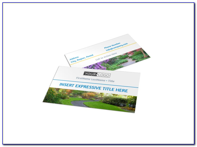 Landscaping Business Cards Templates